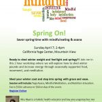 Upcoming Event: Spring On! Mindful Eating and Yoga Asana Workshop