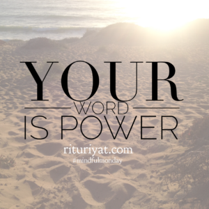 Your Word Is Power