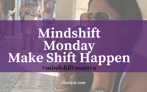 Mindshift Monday: Ritual