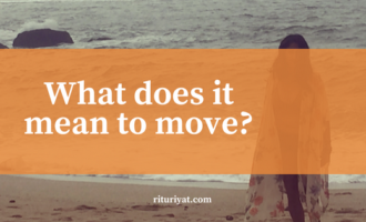 What does it mean to move